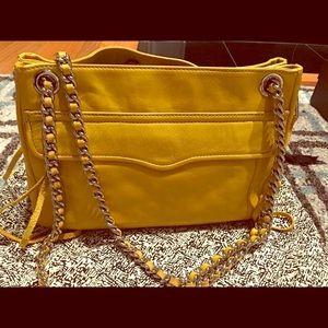 Rebecca Minkoff Swing Shoulder Bag in Yellow